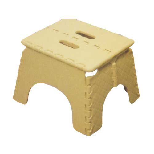 Folding Plastic Step Stool Foldable Seat For Kitchen And All Round Home