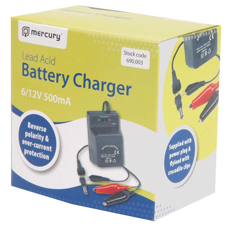plug in 6v oder 12v 500ma bleis ure ladeger t batterie f r laden 5ah batterien. Black Bedroom Furniture Sets. Home Design Ideas