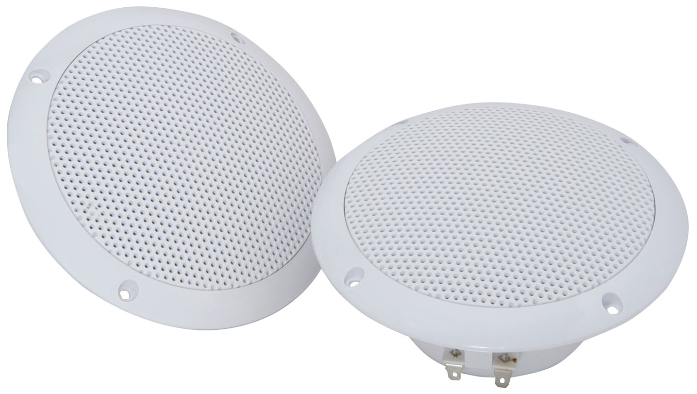 4 x Waterproof ceiling Multi-use speakers 5