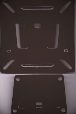 LCD LED Wall Mount Bracket 15Kg 10 - 23 inch Black