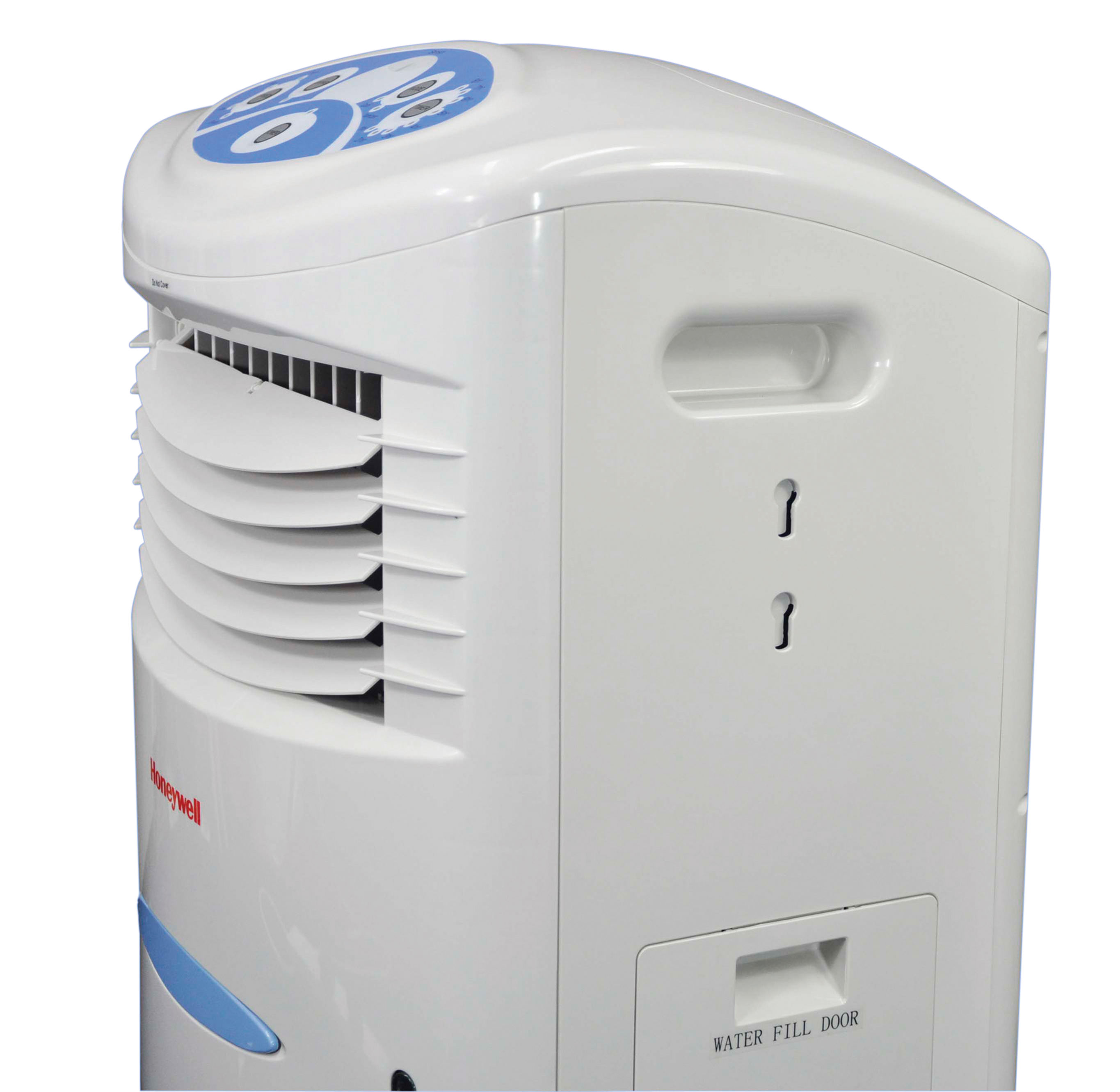 Evaporative Water Cooler : Honeywell remote control evaporative air cooler with l