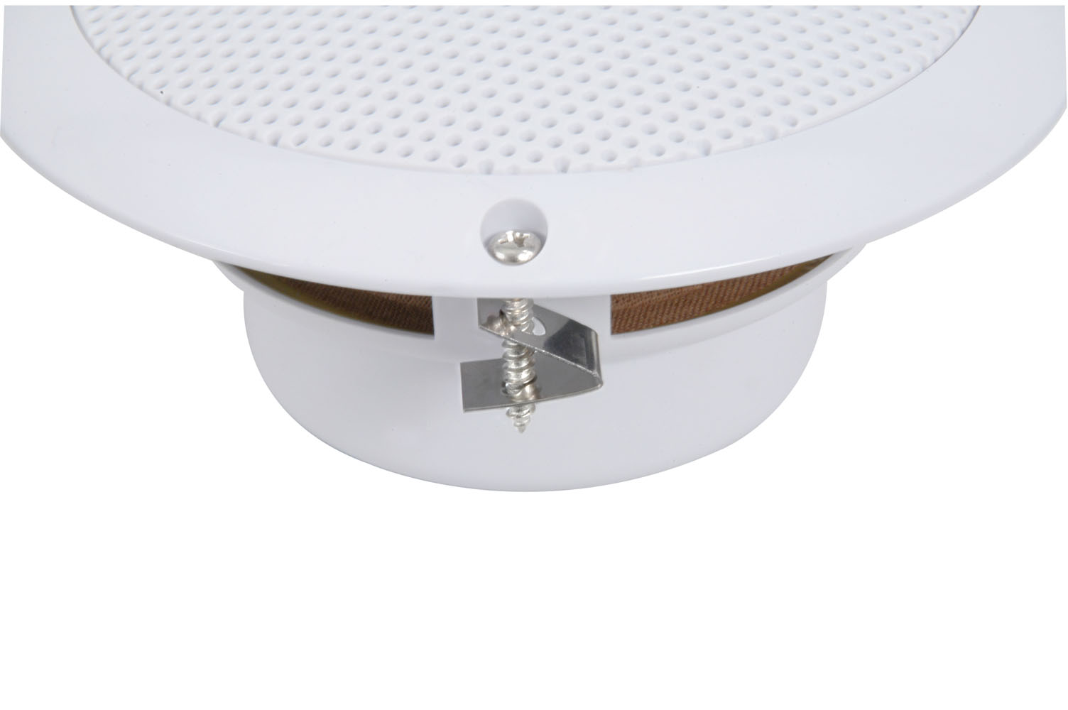 2x waterproof bathroom kitchen patio ceiling speakers 13cm 5 80w max 8 ohms ebay for Ceiling speakers for bathroom