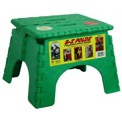 Handy Small Step Foot Stool Folding Flat For Easy Storage