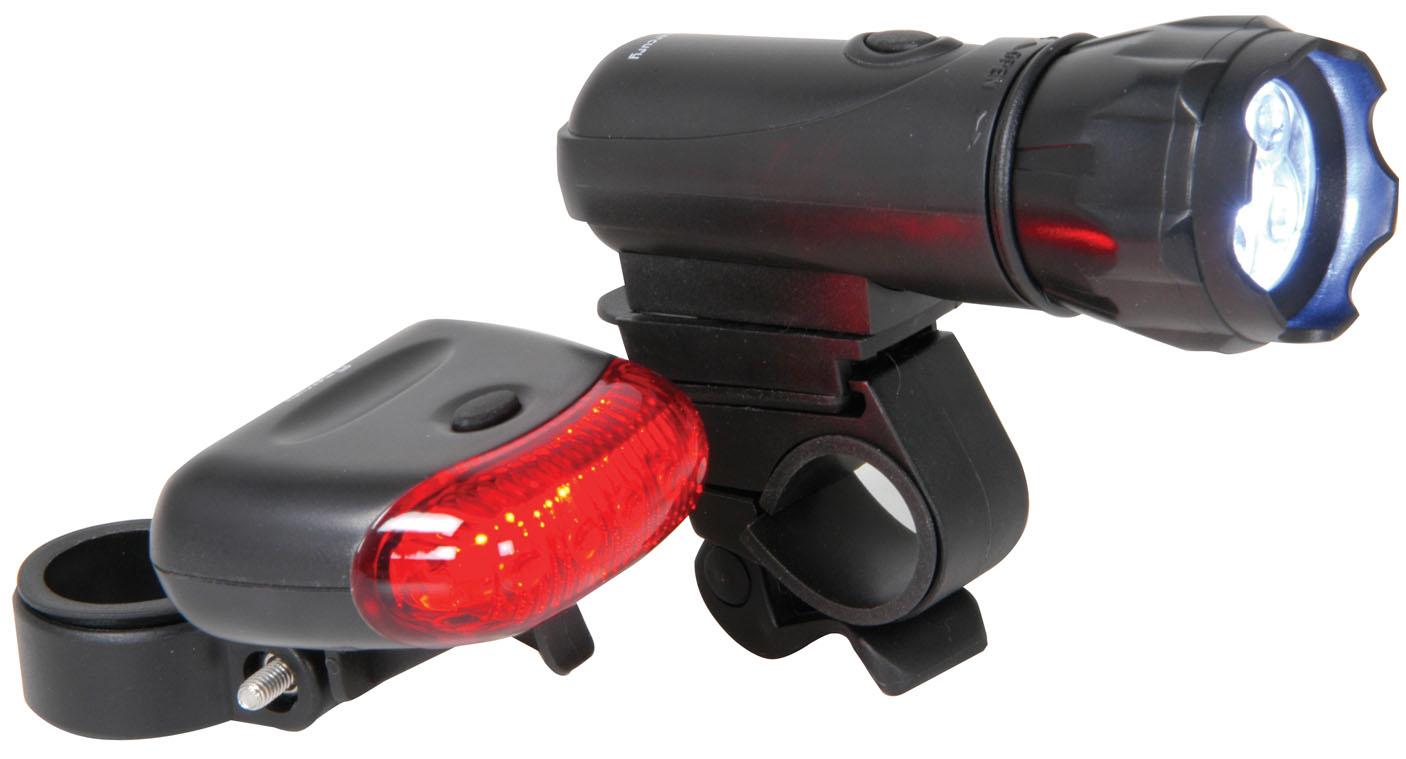 hohe qualit t compact vorne hinten led fahrradlampe ebay. Black Bedroom Furniture Sets. Home Design Ideas