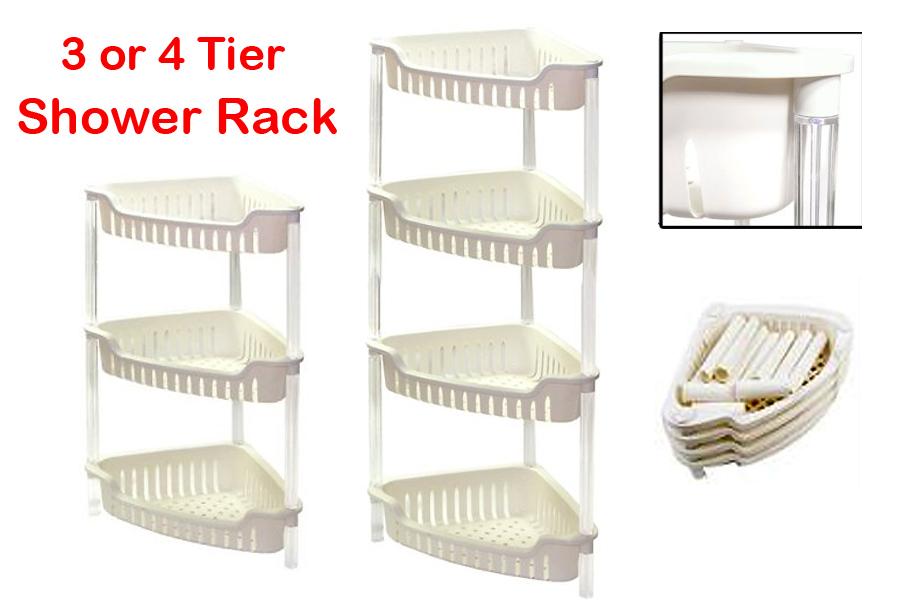 Unique Plastic Corner Shower Shelves Pictured Zenith Products Corner 2Shelf