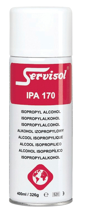 servisol ipa 170 isopropyl alcohol cleaning spray for electronic devices 400ml. Black Bedroom Furniture Sets. Home Design Ideas