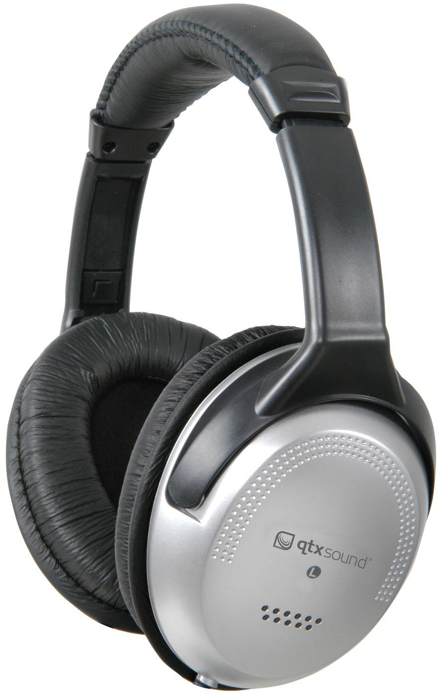 Qtx cuffie stereo con controllo del volume chiusi cup 3 5 - Cuffie traduzione ...
