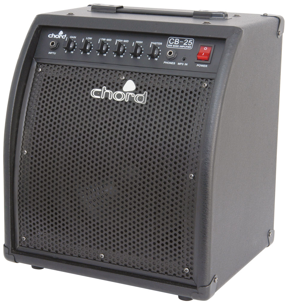 chord bass amp combo 8in 25w cb series guitar amplifier extended eq control ebay. Black Bedroom Furniture Sets. Home Design Ideas