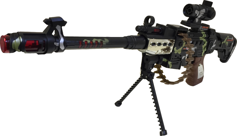 machine gun warning