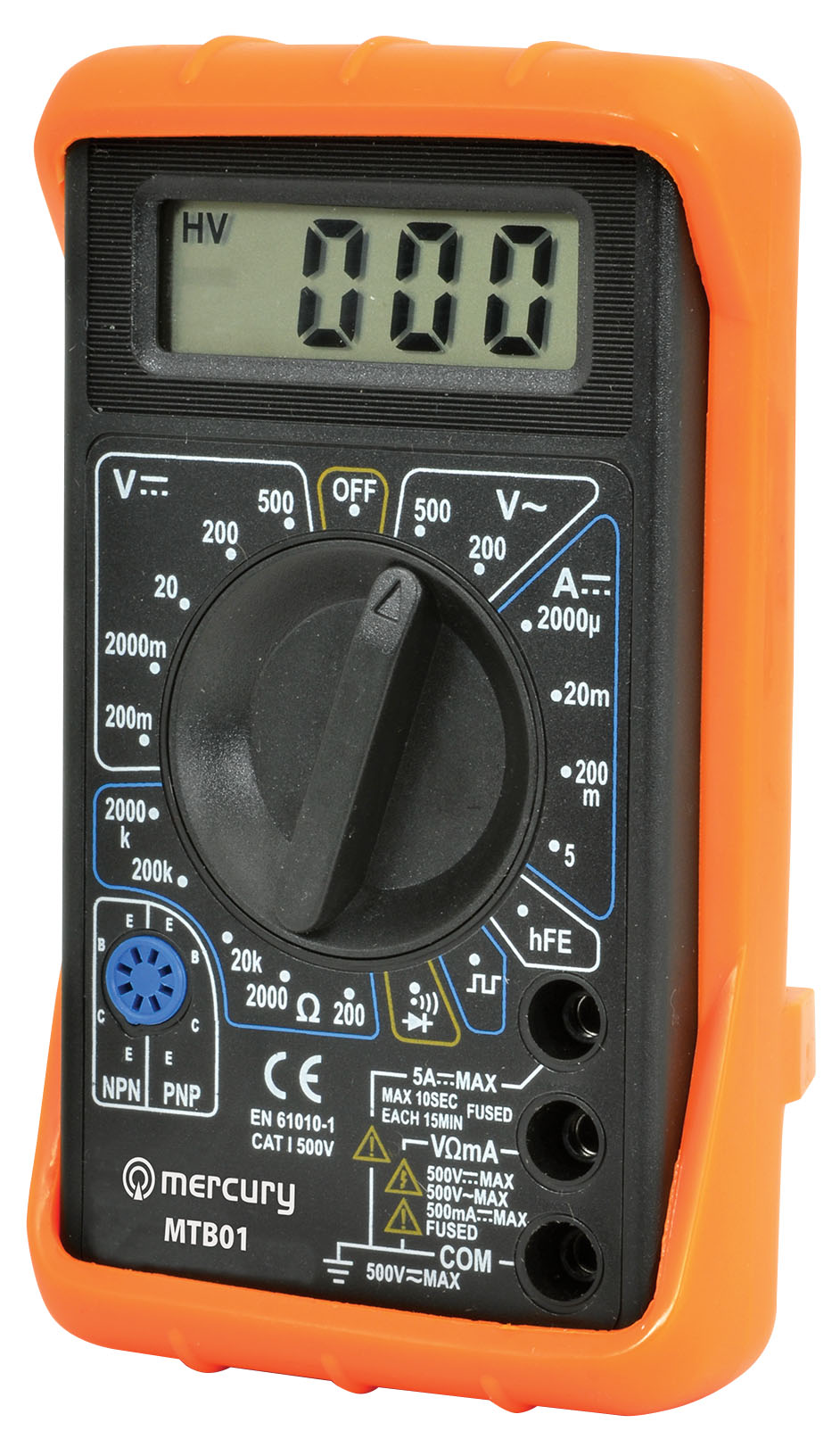 Check For Continuity Voltmeter : Digital multitester multimeter voltmeter range func