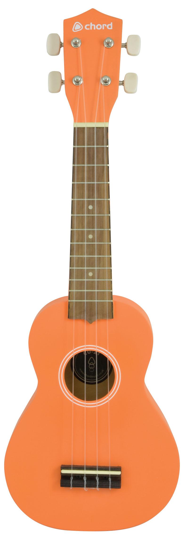 chord cu21 soprano ukulele guitar music instrument orange buy online. Black Bedroom Furniture Sets. Home Design Ideas