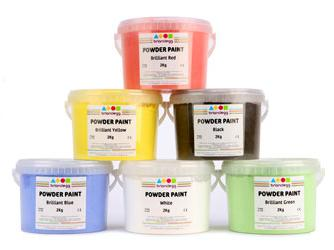 2Kg Tub Powder Paint Variety of Colours