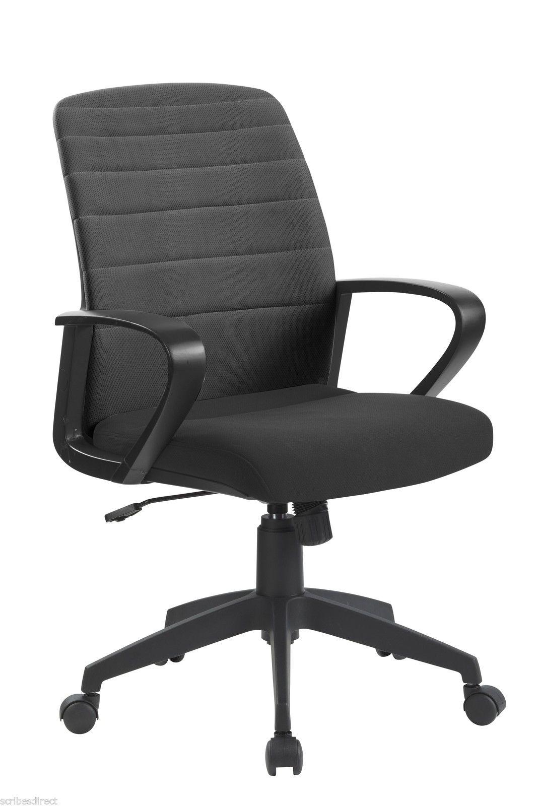OYSTER Folding Designer Operator fice puter Swivel Task Chair in BLACK