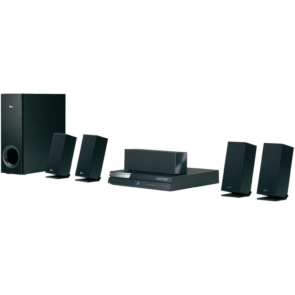 lg electronics bh6220s 5 1 home theater system 3d blu ray. Black Bedroom Furniture Sets. Home Design Ideas