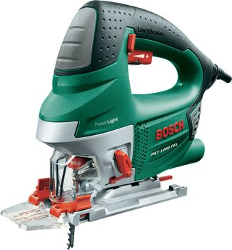 bosch pel pst1000 compact electric variable speed jigsaw sabre saw 650w. Black Bedroom Furniture Sets. Home Design Ideas