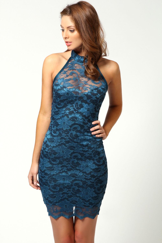 Perfect Boohoo Womens Loredana Obi Tie Wrap Dress | EBay