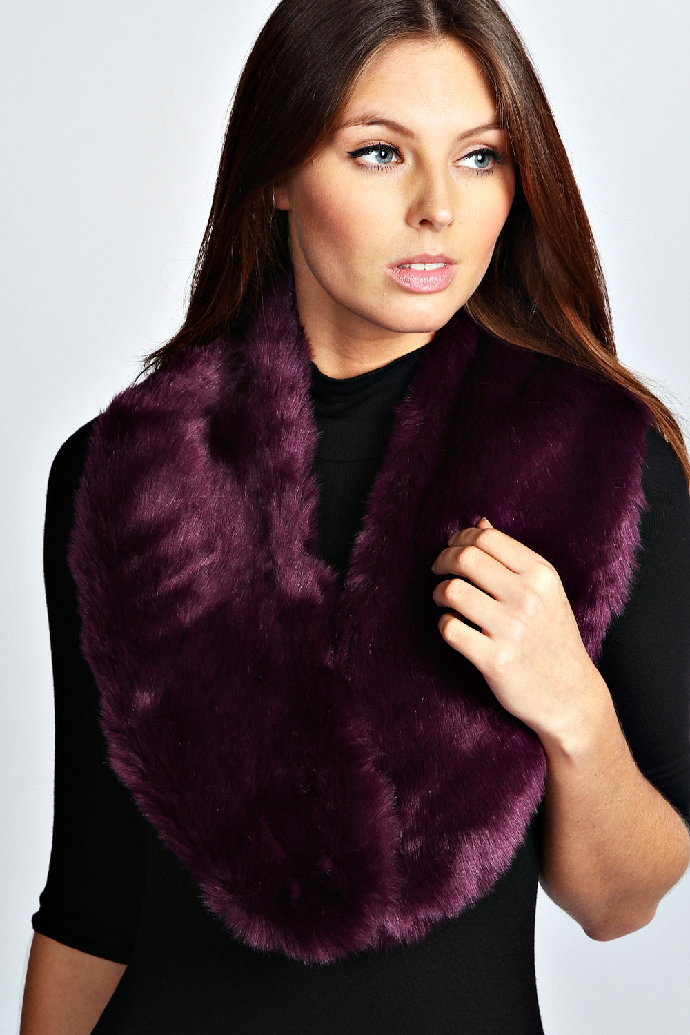Boohoo-Rachael-Faux-Fur-Stole-One-Size