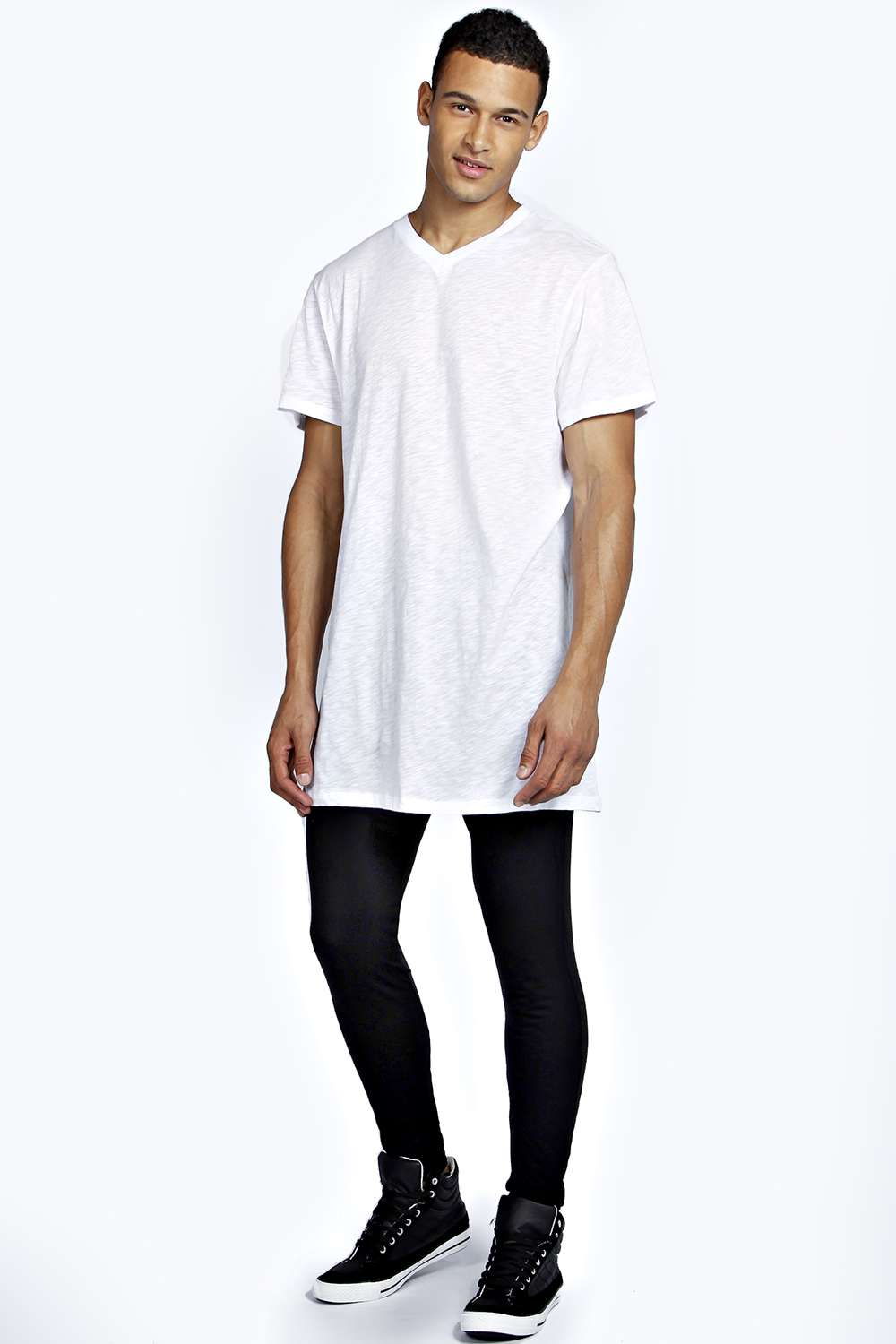 Men's Cotton Spandex Leggings offers a great support, cut to Athletic fit, and made to last.