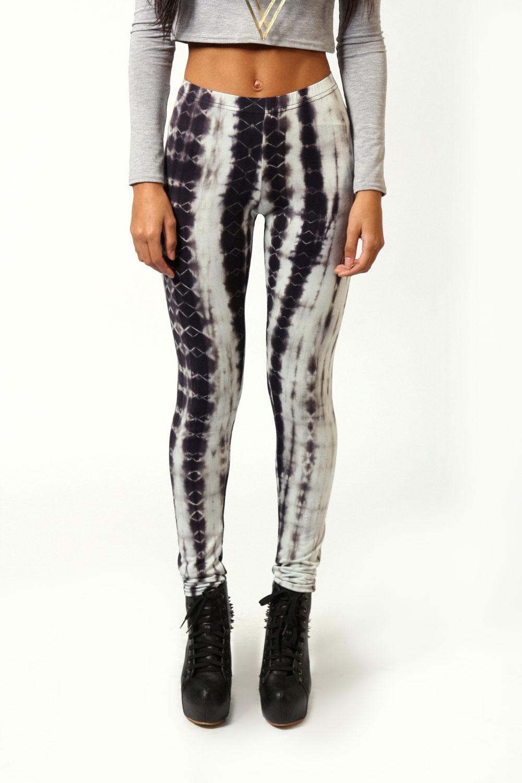 Boohoo Tara Tie Dye Print Leggings | eBay