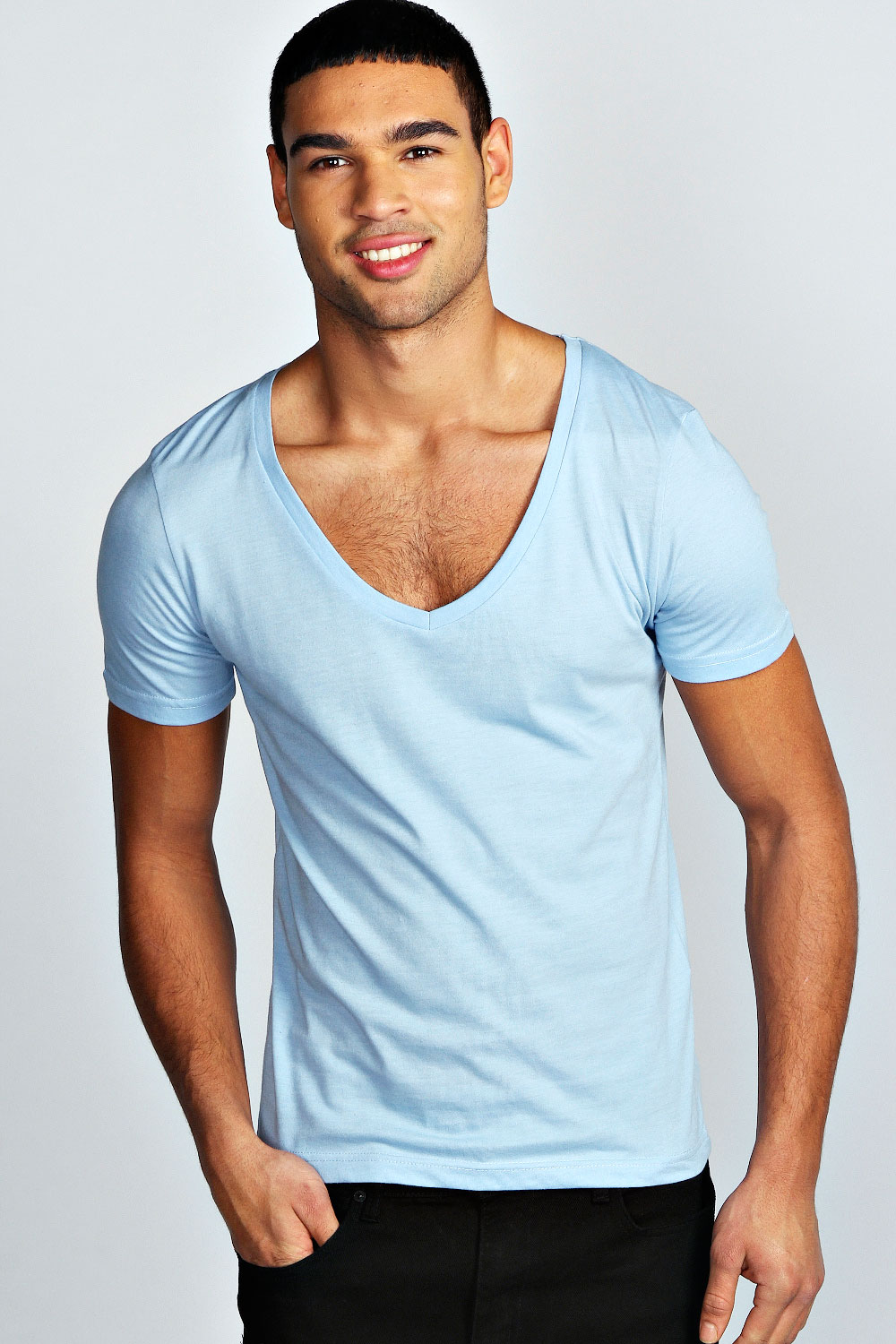 Best V Neck T-Shirts For Men Who Want Comfort And Style V neck t-shirts offer unmatched sophistication and fashionable comfort for men. Most men's apparel tends go in and out of style over the years, but the V-neck t-shirt has always been a timeless classic.
