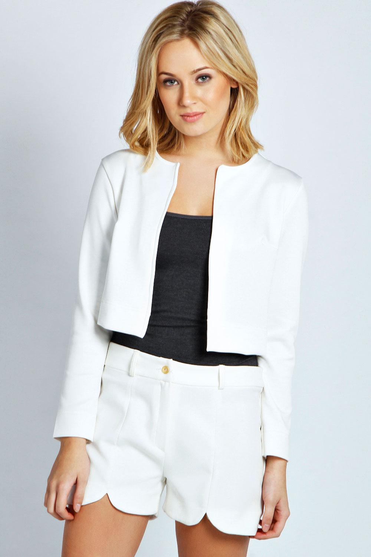 Womens Cropped Blazer - Hardon Clothes  Cropped