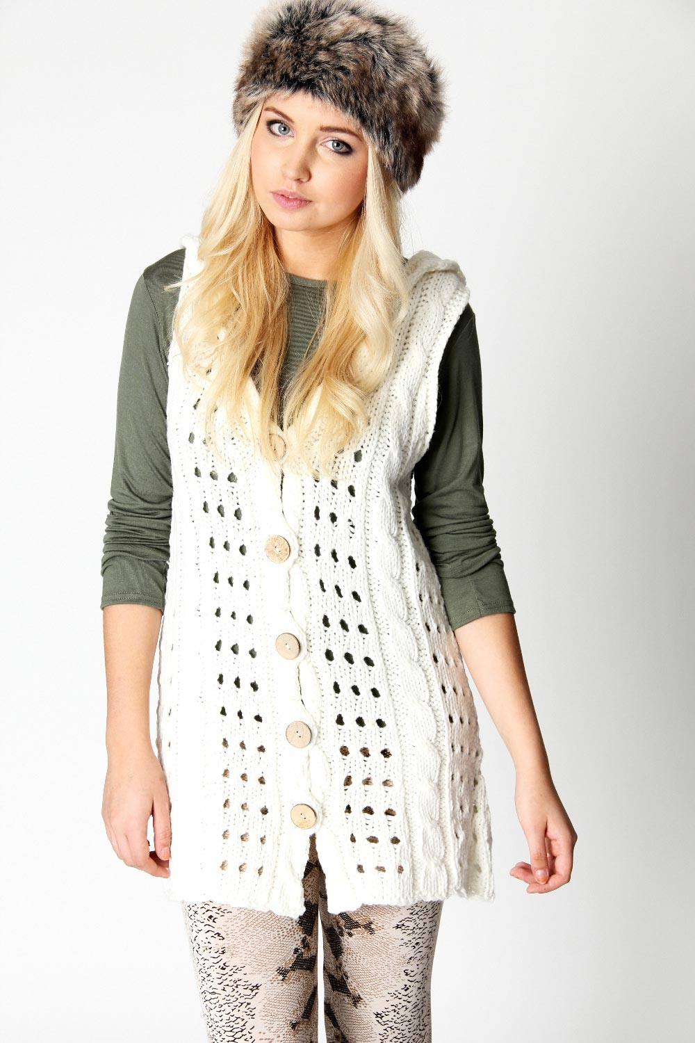 Sleeveless solid open cardigan with a draped body / Loose cut, comfortable fit. Anna-Kaci Womens Sleeveless Open Front Crochet Shawl Cardigan Bikini Cover Up. by Anna-Kaci. $ - $ $ 18 $ 22 99 Prime. FREE Shipping on eligible orders. Some sizes/colors are Prime eligible.