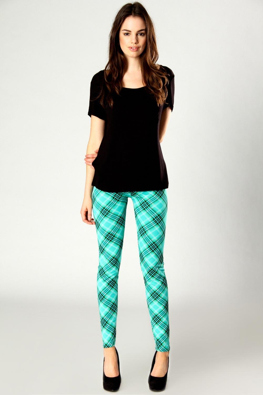 Boohoo-Sonya-Tartan-Print-Leggings