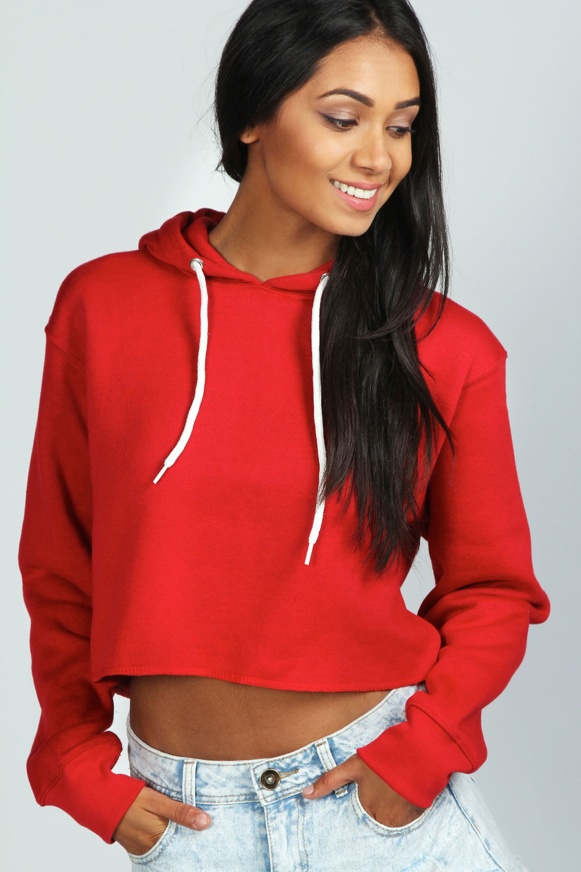 Crop hoodie