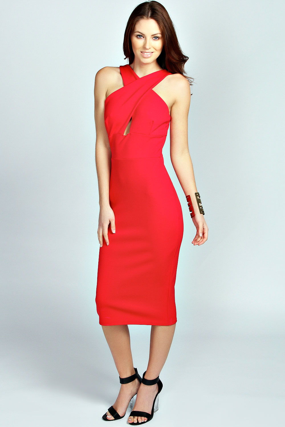 Boohoo-Jasmine-Cross-Over-Bodycon-Dress