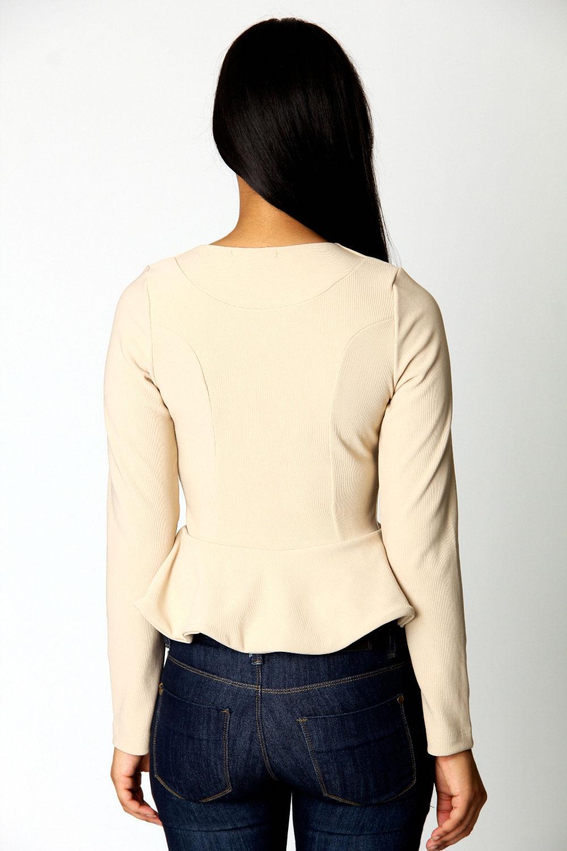 Boohoo-Sarah-Fitted-Peplum-Long-Sleeve-Waist-Length-Jacket