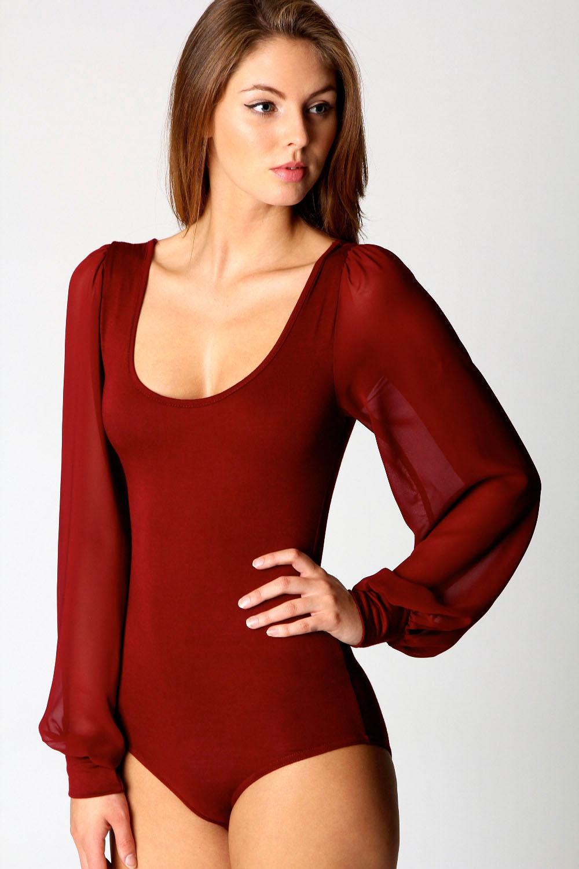 Womens Blouse Bodysuit 96