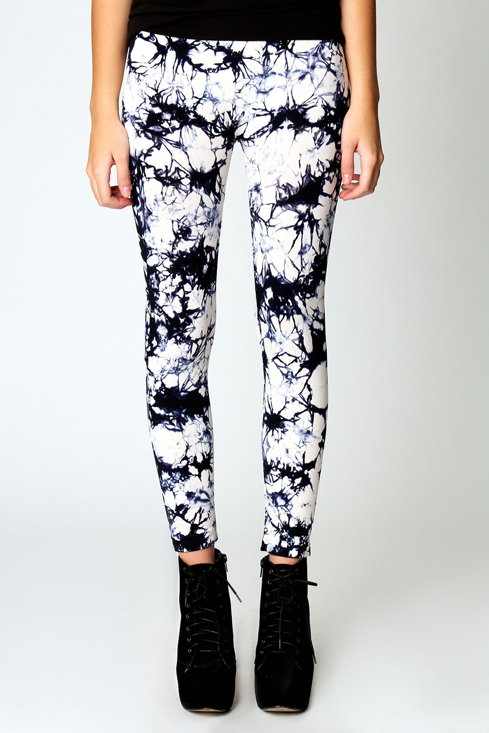 Boohoo Sadie All Over Tie Dye Leggings | eBay
