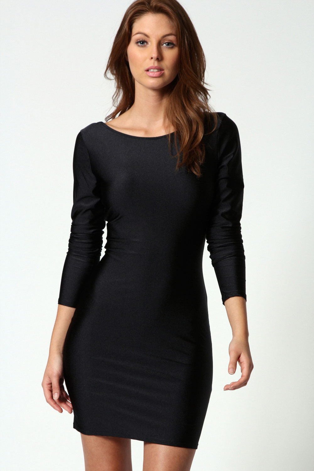 f40edcb69a5 black long sleeve bodycon dress - Women s Dresses