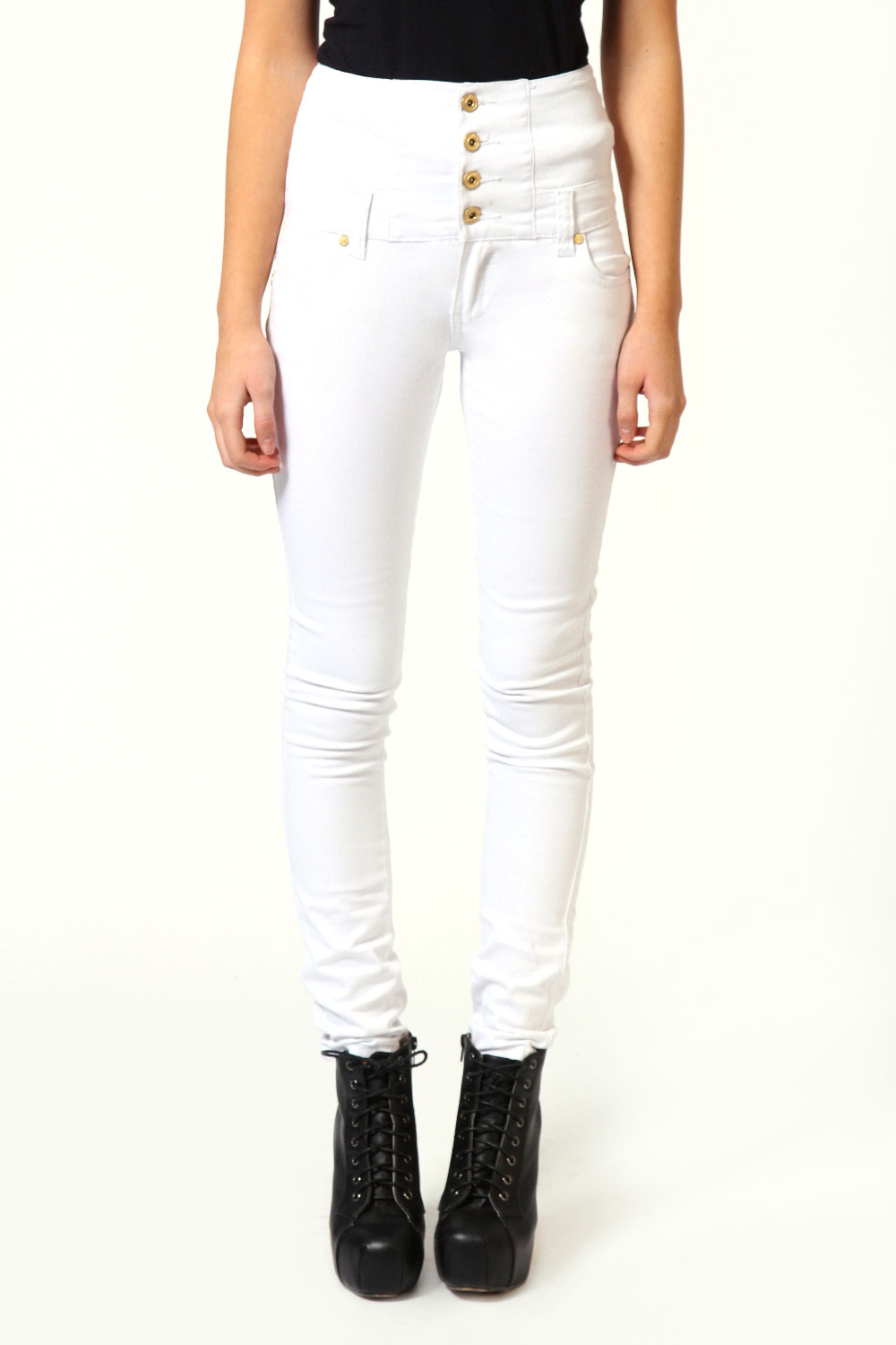 Boohoo high waisted jeans – Global fashion jeans models