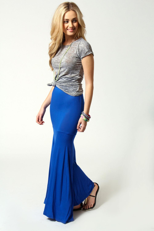 Boohoo-Anna-Jersey-Fishtail-Maxi-Skirt