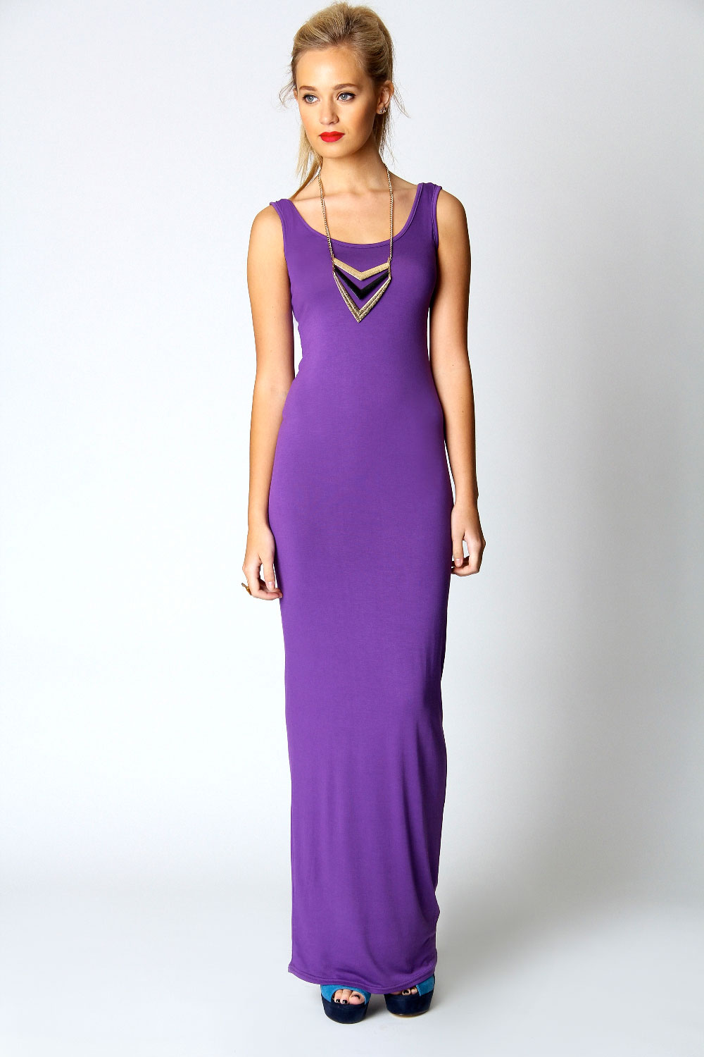 Full Length Sleeveless Dress