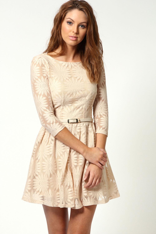 Kleid kurz mit langen armeln