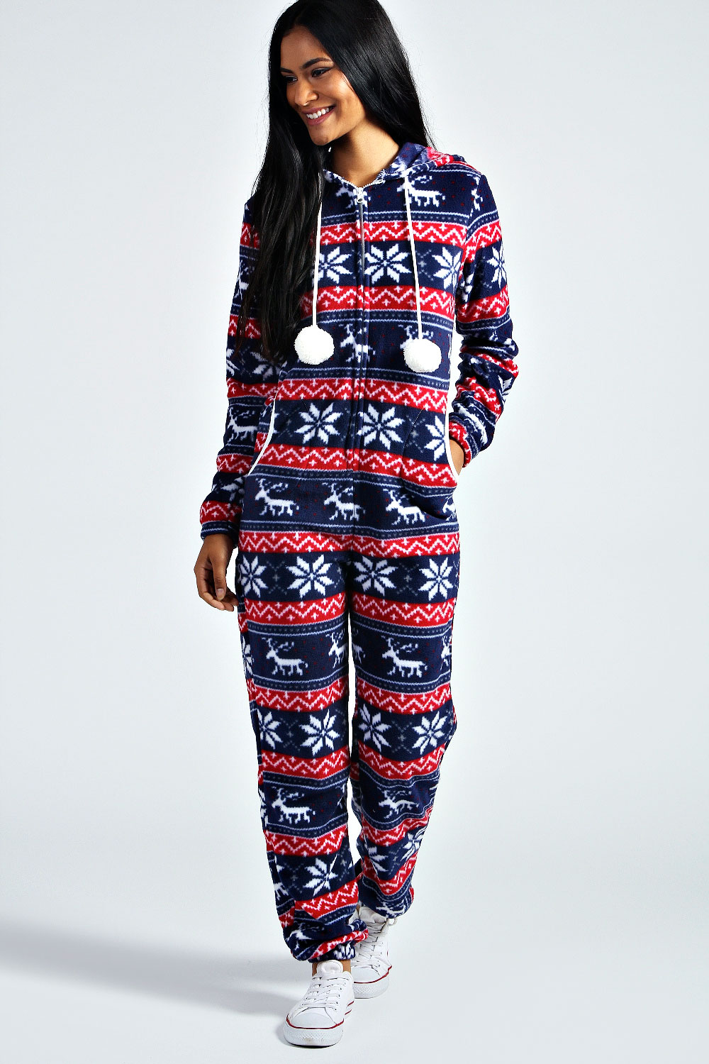 The christmas onesies in our collection are the best you will find in the market. They have the best features and fabrics. They have the best features and fabrics. We have gorgeous all over Christmas onesie for Womens that are a perfect addition to the casual wardrobe.