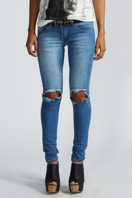 Destroyed Denim Jeans Jeans bei Zalando online kaufen | Ob Ripped Jeans oder ausgefranste Hosenbeine - dieser Trend geht an keinem vorbei.