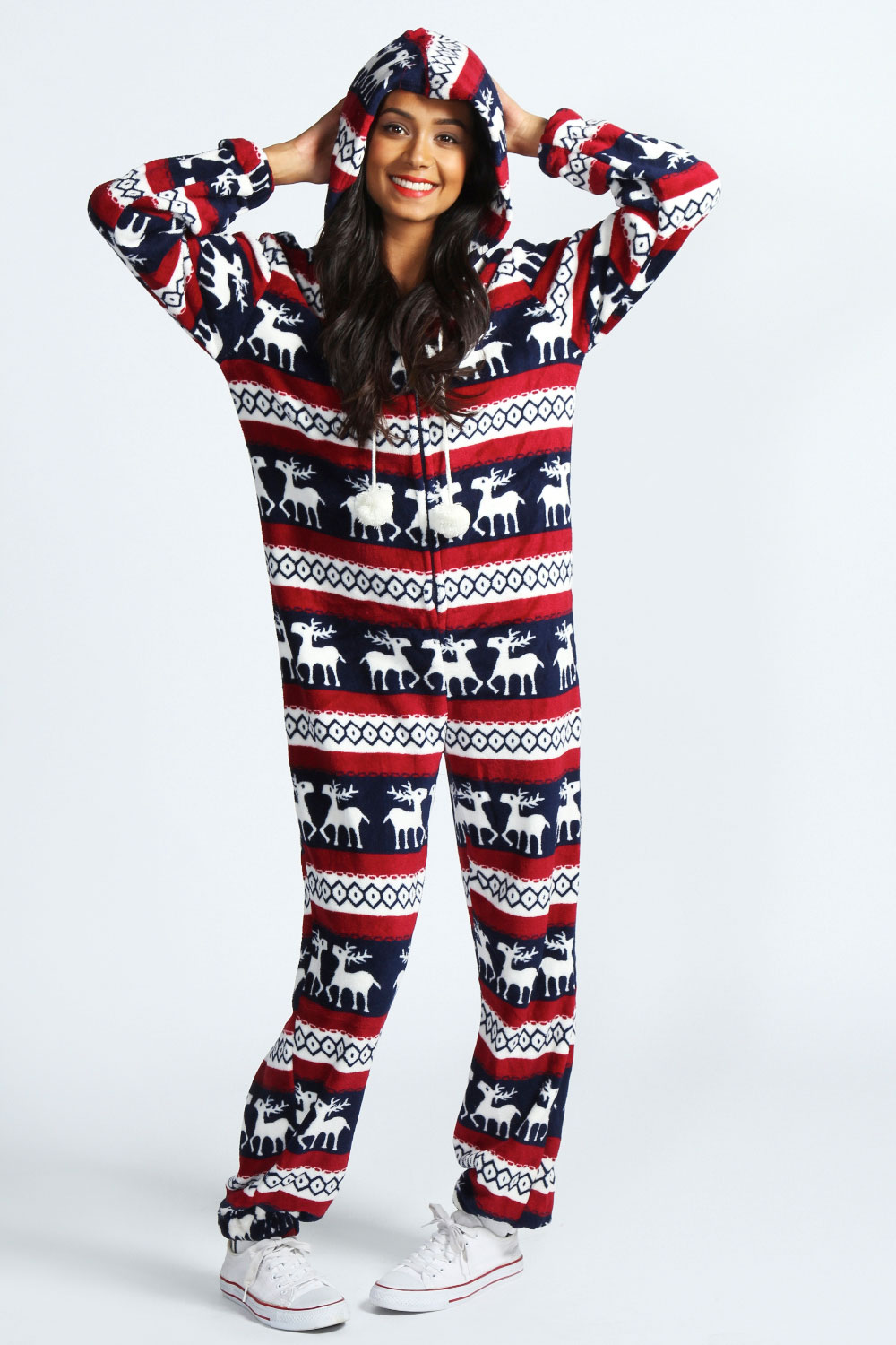 on feet shots of 6838a 5788e boohoo christmas novelty onesie ebay