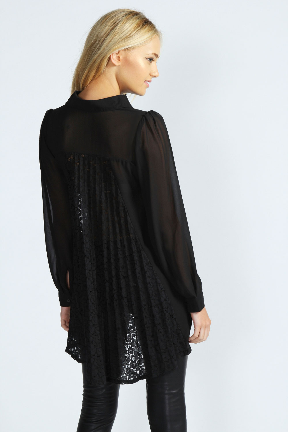 Soft Surroundings Petites Silk Floral Top - Black. The vibrant floral motif, printed on silk chiffon, pops against a black backdrop while the open front and 3/4 sleeves add to this tops .