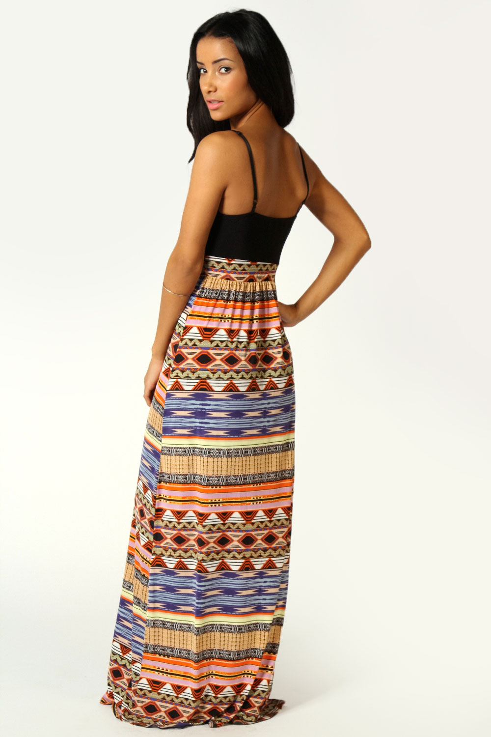 REVERSE Dresses for Women - Show off your figure in this bodycon REVERSE dress with tribal-print. Scoop