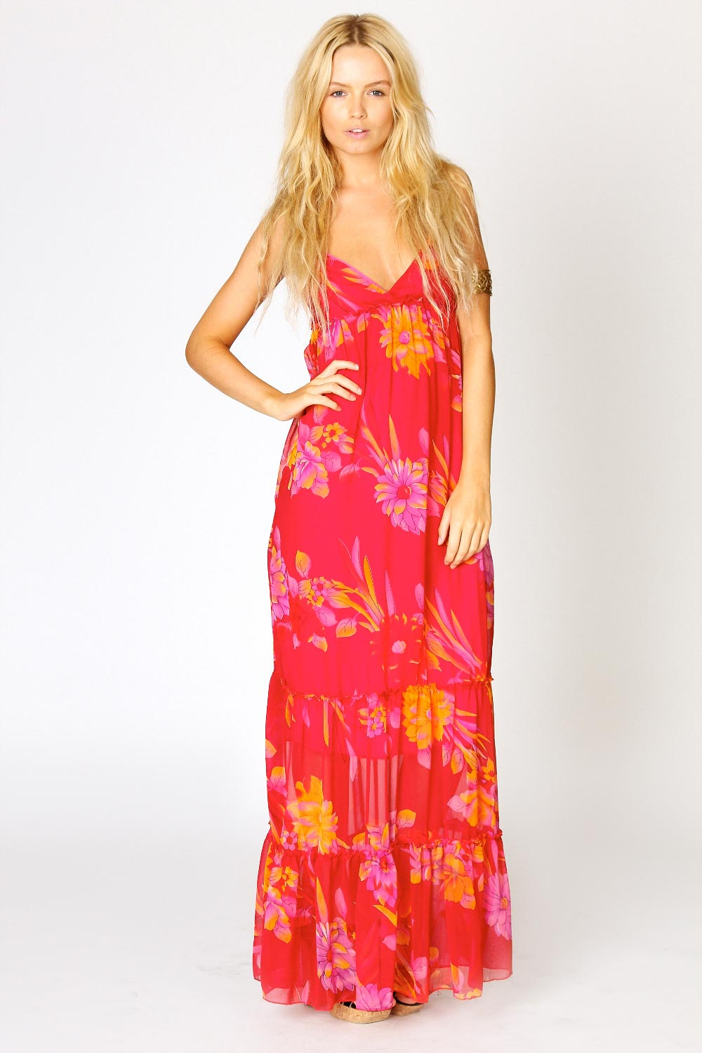 BooHoo-Cassie-Bold-Floral-Chiffon-Maxi-Dress-in-Red