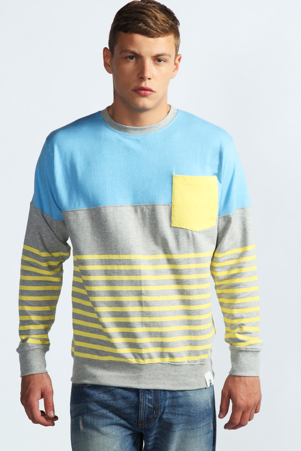 Boohoo-Cut-And-Sew-Crew-Neck-Sweater