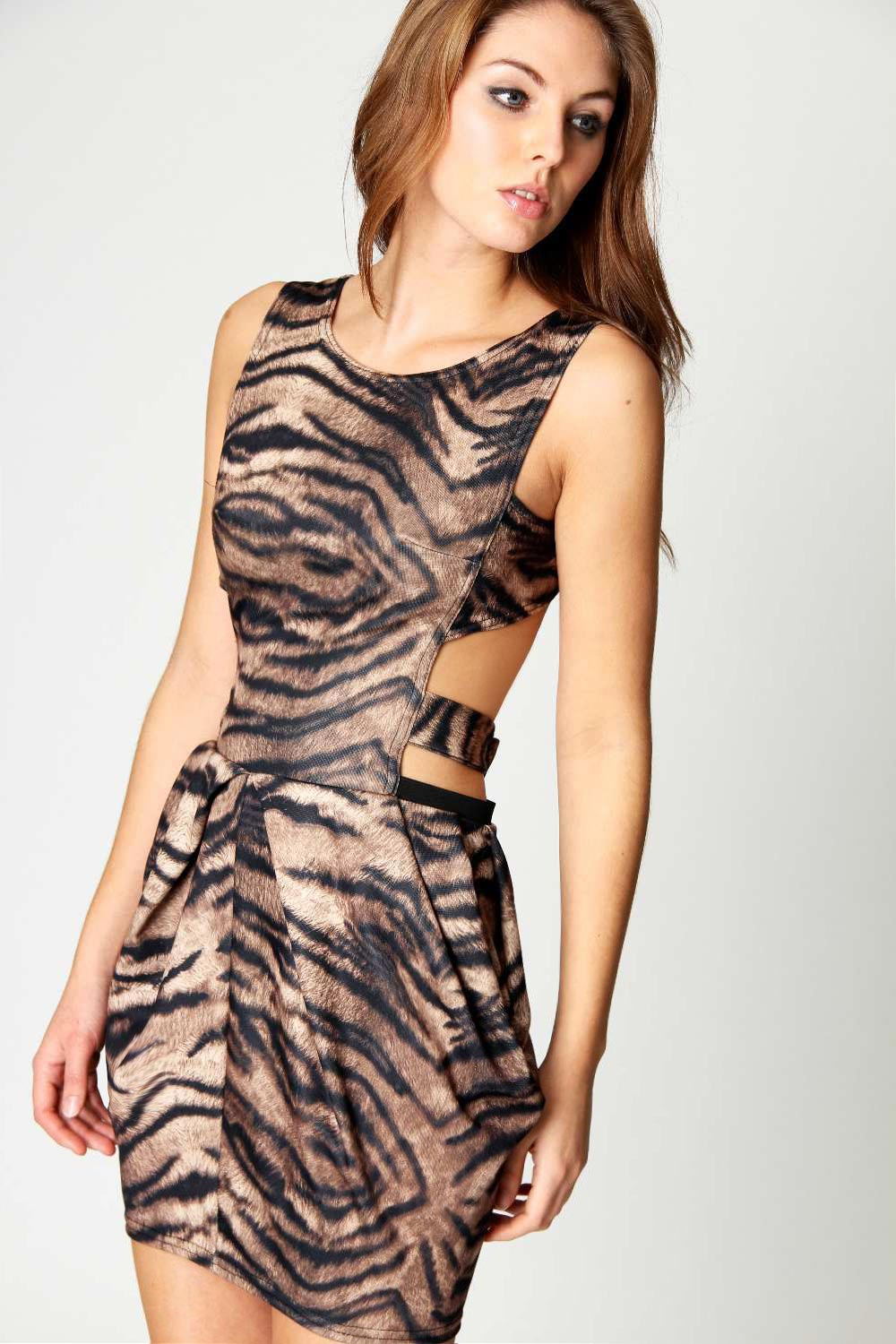 Boohoo-Emily-Animal-Print-Strappy-Open-Back-Dress
