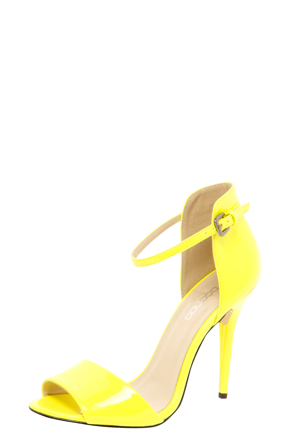 Boohoo-Scarlett-Yellow-Patent-Strappy-Heels-in-Yellow