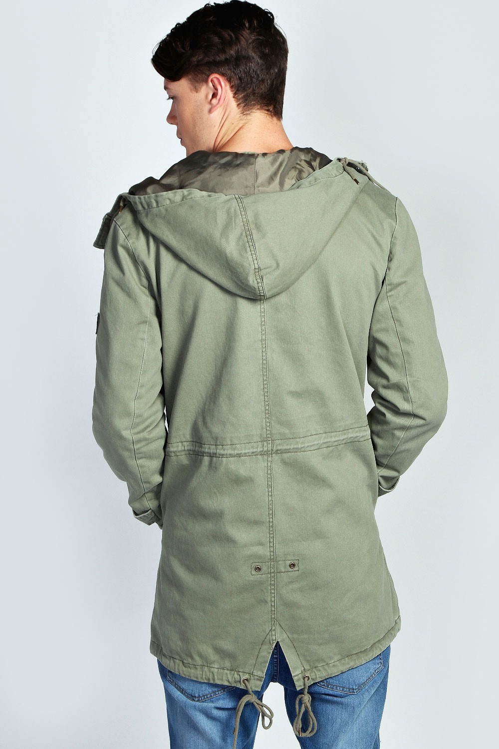 Cotton Parka Jacket | Fit Jacket