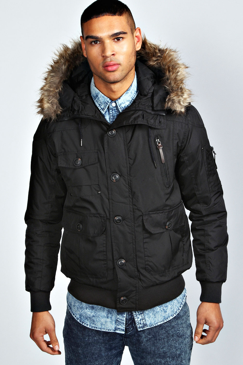 Black Parka Jacket Mens | Jackets Review