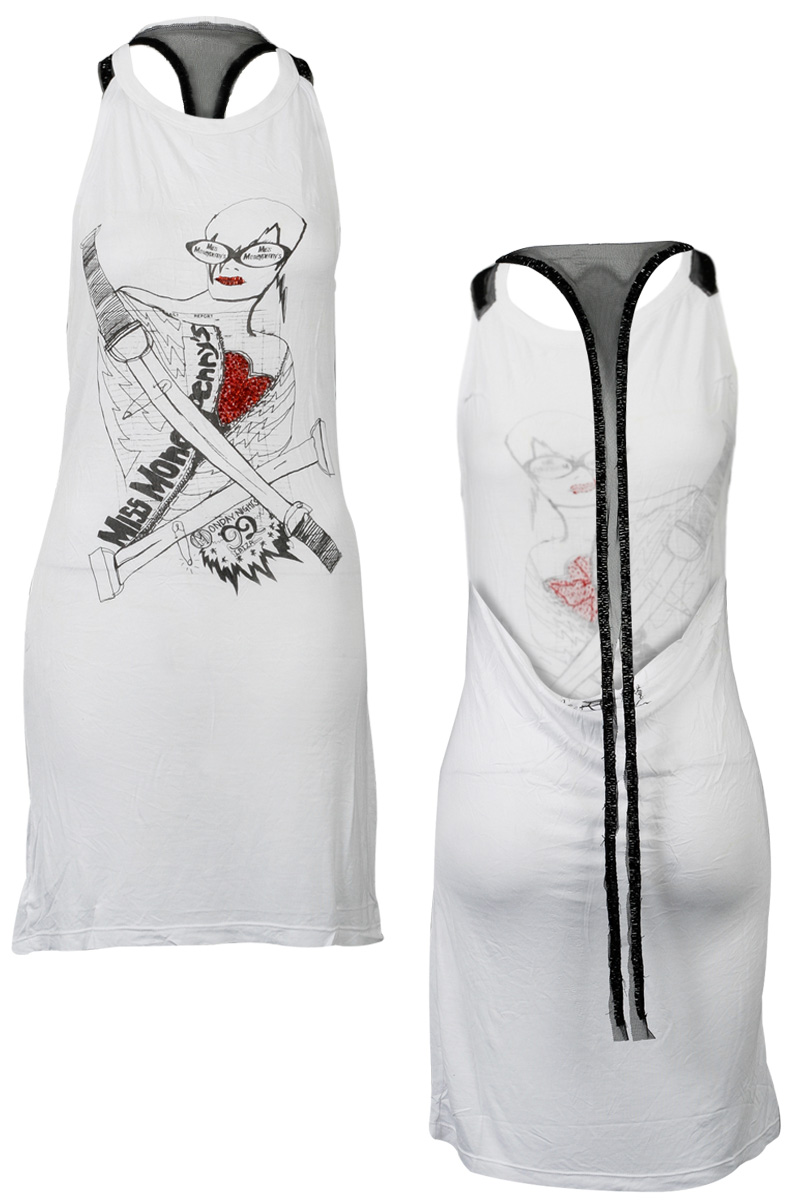 RELIGION-CLOTHING-CLUBBED-TO-DEATH-WOMENS-WHITE-LADIES-HOLIDAY-DRESS-SIZE-6-14