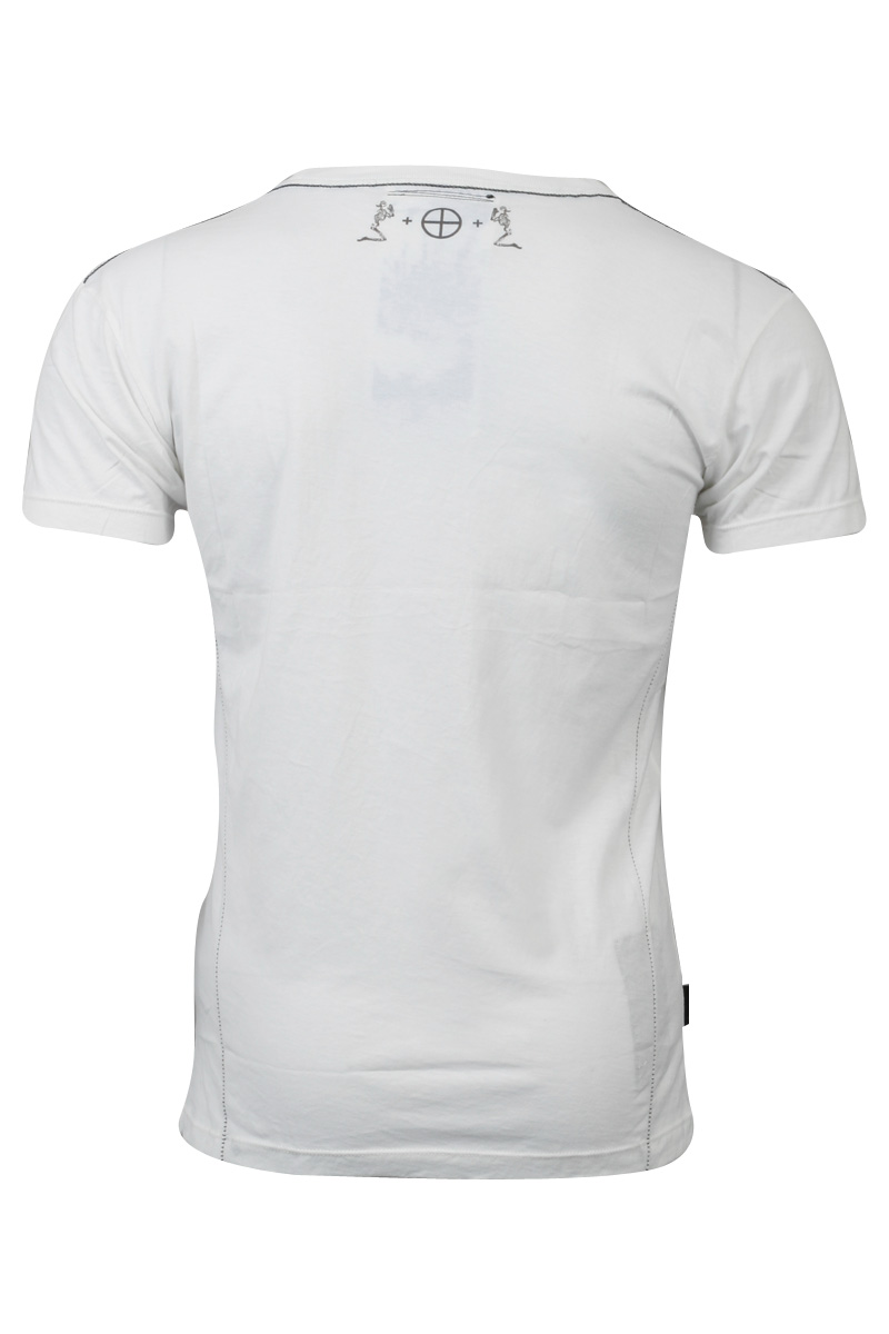 RELIGION-CLOTHING-MENS-WHITE-PRINTED-SPACE-IBIZA-CLUBBING-T-SHIRT-SIZE-XS-XXL-UK